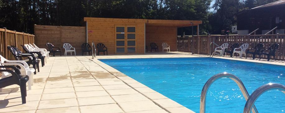 Heated swimming pool from 15/05 to 15/09: camping Porte des Vosges, camping Vosges